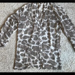Banana Republic Sheer Blouse